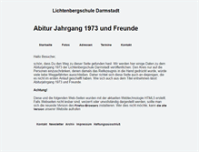 Tablet Preview of abitur73.net